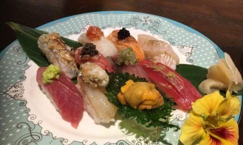 スシバーダイシンの寿司