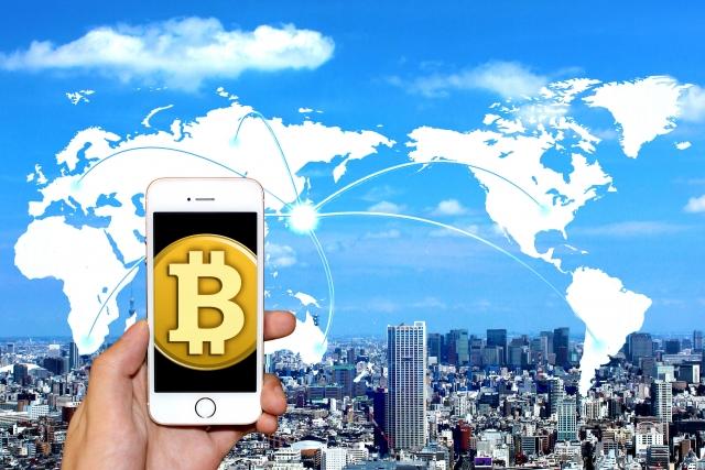 仮想通貨の取り引きイメージ画像