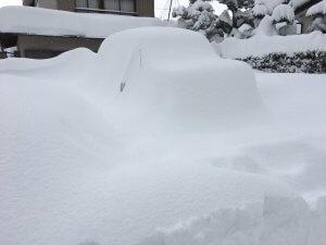 この日の昼の僕の車の様子