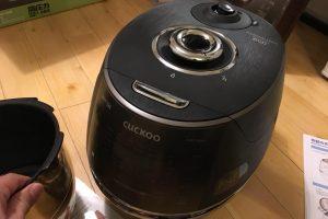 発芽酵素玄米が炊ける!家庭用圧力がま クックIH New圧力名人DXの画像