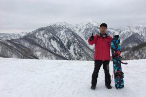 雪山と南部
