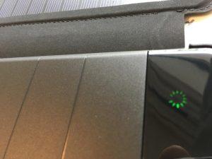 X-DRAGONのソーラーチャージャーモバイルバッテリー10000mAh