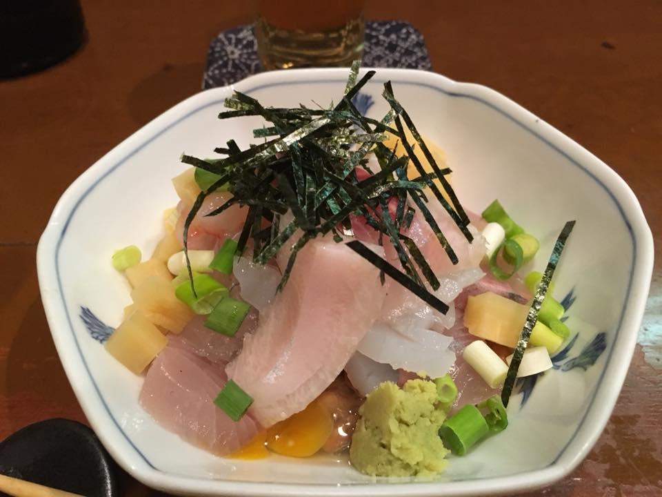 福井の納豆料理専門店「葵」の海鮮納豆