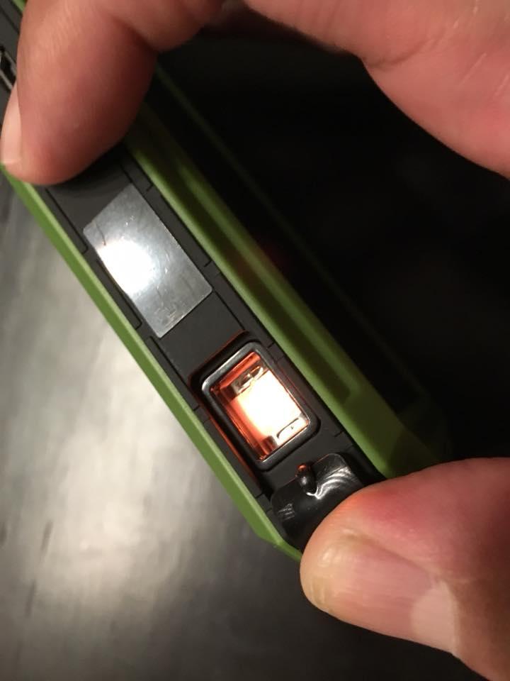 X-DRAGONモバイルバッテリー15000mAhの電子ライター機能