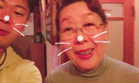 福井の納豆料理専門店「葵」のお母さん