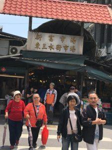 台湾の風景 昼の市場