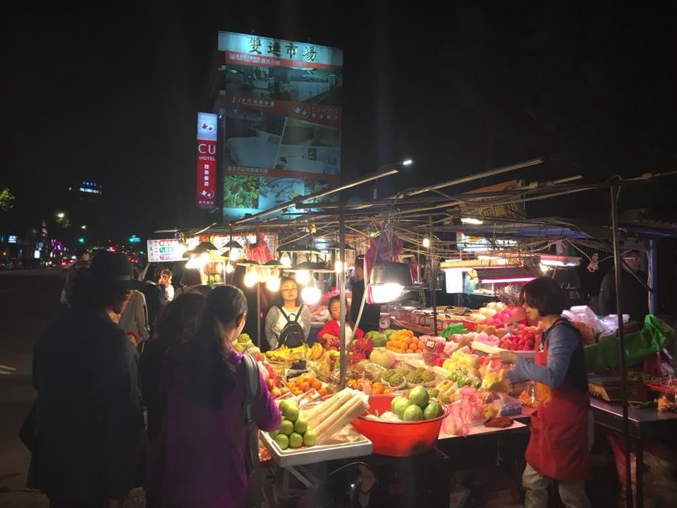 台湾の風景 夜市