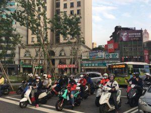 台湾の風景 バイク乗り達