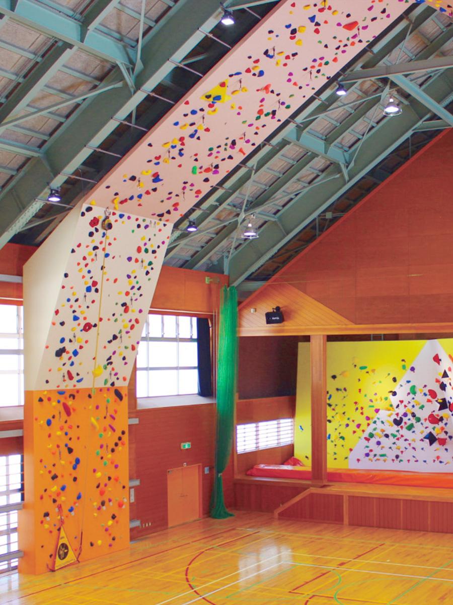 福井県池田町立クライミングウォールのイメージ画像