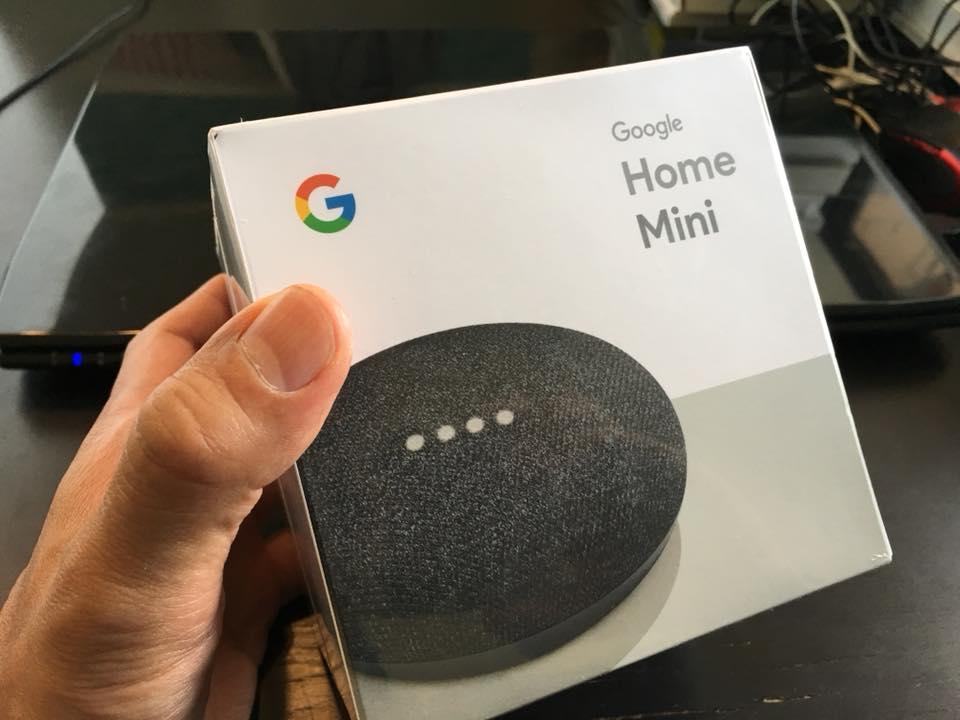 グーグルホーム・ミニの画像
