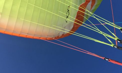 パラグライダー体験画像
